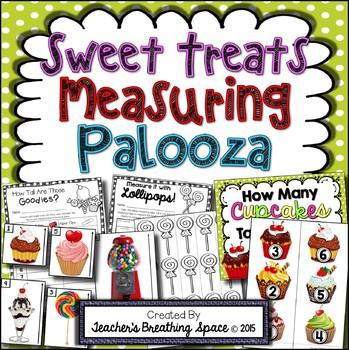 Valentine's Day Measuring --- Sweet Treats Measuring Paloo