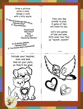 Valentine's Day Mini Book- A Friendship Tale