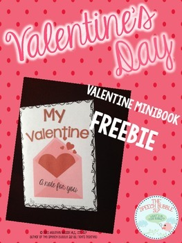 Valentine's Day Mini Book FREEBIE