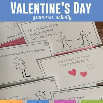Valentine's Day Mini Books: Grammar