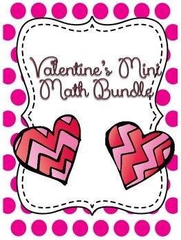 Valentine's Day Mini Math Bundle