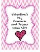 Valentine's Day - Fact/Opinion, Common/Proper/Plural Nouns