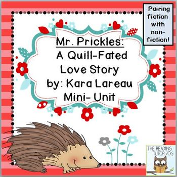 Valentine's Day Book Literacy Printables Pairing Fiction With Non-Fiction