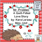 Valentine's Day Book Literacy Printables Pairing Fiction W