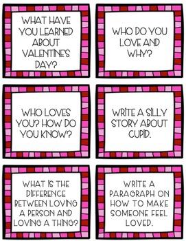 Valentine's Day Mini Writing Unit