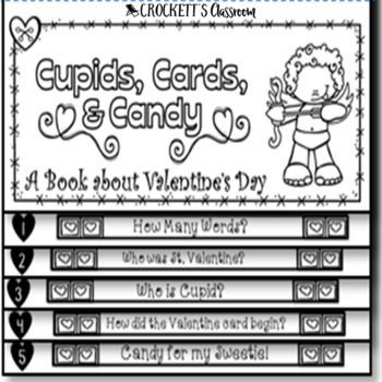 Valentine's Day History Booklet (Layered Book and Mini-Book Versions)