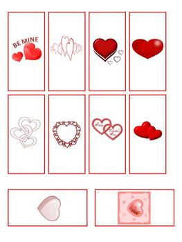 Valentine's Day Miniature Chocolate Candy Bar Wrappers