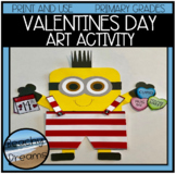 Valentine's Day Art Activity : Print and Make for A Great