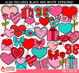 Valentines Day Mix Clipart