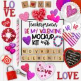 Valentines Day Mockups | Teacherpreneur Mockup | Create Yo