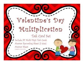 Valentine's Day Multiplication
