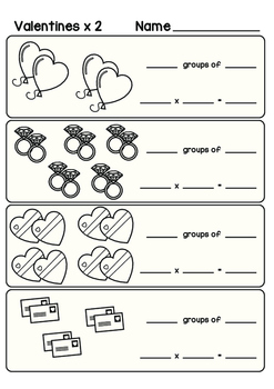 Valentine's Day Multiplication