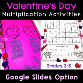 Valentine's Day Multiplication Practice