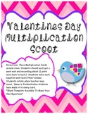 Valentines Day: Multiplication Scoot