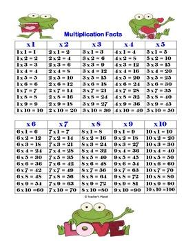Valentine's Day Multiplication Tic-Tac-Toe!