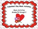 Valentine's Day Music Activities (Powerpoint)