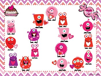 Valentine's Day Music Game: Monster Rhythms
