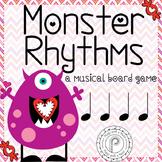 Valentine's Day Music Game: Monster Rhythms