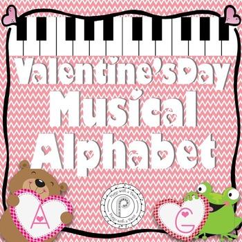 Valentine's Day Music Game: Musical Alphabet
