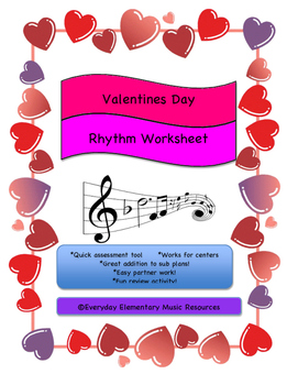 February Valentine's Day Music Rest Name Match!