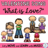 "Valentine's Day Song ""What is Love?"" Mp3 Vocal and Acc. Tracks"