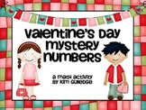 Valentine's Day Mystery Number - Math Problem Solving Activity