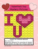 Valentine's Day Mystery Pictures- Common Core Aligned