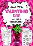 Valentine's Day Worksheets (Valentine's Day Activities)