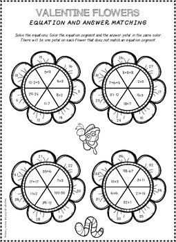 Valentine's Day Worksheets (Valentine's Day Activities)