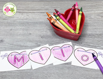 Valentines Day Name Activities for Preschool & PreK | Editable Name Puzzles