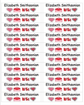 valentine s day labels free smaller size by linda post the