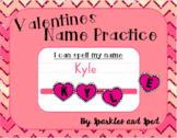Valentines Day Name Practice Freebie