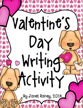 Valentine's Day Newspaper Writing Activity