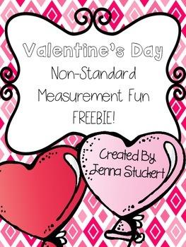 Valentine's Day Non-Standard Measurement Fun FREEBIE!