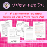 Valentines Day Nonfiction Reading and Writing Pack