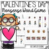 Valentine's Day Nonsense Word Game
