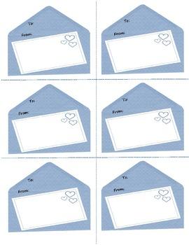 Valentine's Day Notecards