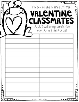 Valentine's Day Notes for Friends