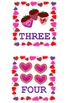 Valentines Day Number Hunt Cards (1-5)