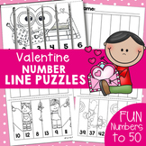 Valentine's Day Activities - Number Worksheets