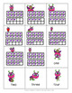 Valentine's Day Number Representations - VITTLE BUG LOVES NUMBERS {1-20}