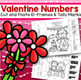 Valentine's Day Numbers 10-Frames and Tally Marks FREE