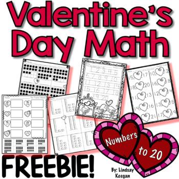 Valentine's Day Numbers - FREEBIE!