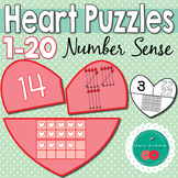 Valentine's Day Numbers to 20