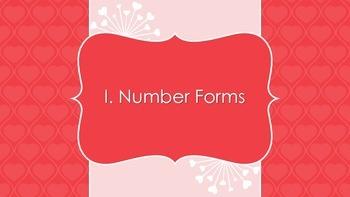Valentine's Day Math Task Cards (Numeration)