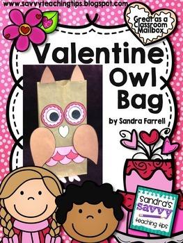 Valentine's Day Owl Bag