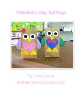 Valentine's Day Owl Bags