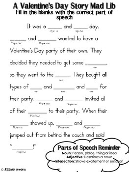 Valentine's Day Packet