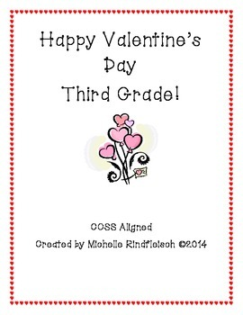 Valentine's Day Packet - 3rd Grade