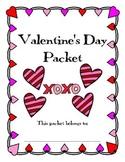 Valentine's Day Packet / Activities